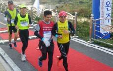 たいちょう含む日韓合同チームレース写真